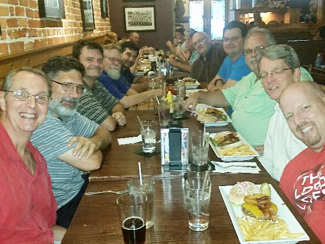 Men's Night Out at Great Outdoors Restaurant